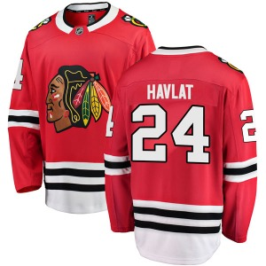 Youth Breakaway Chicago Blackhawks Martin Havlat Red Home Official Fanatics Branded Jersey